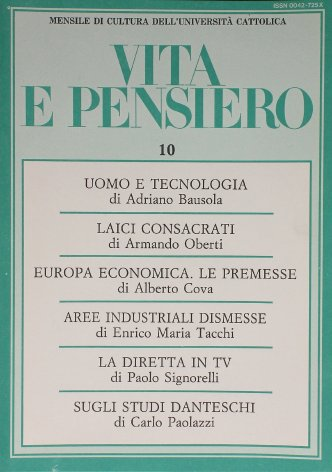 VITA E PENSIERO - 1987 - 10