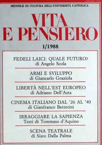 VITA E PENSIERO - 1988 - 1