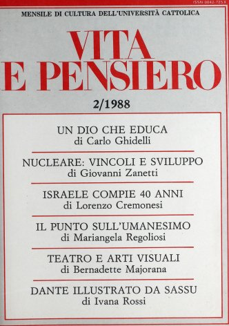 VITA E PENSIERO - 1988 - 2