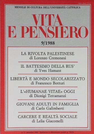 VITA E PENSIERO - 1988 - 9