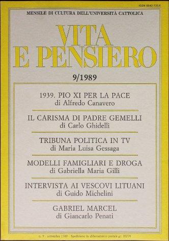 VITA E PENSIERO - 1989 - 9