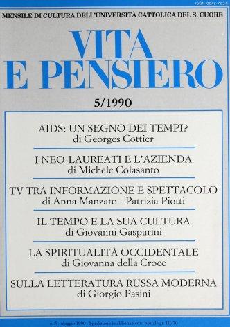 VITA E PENSIERO - 1990 - 5