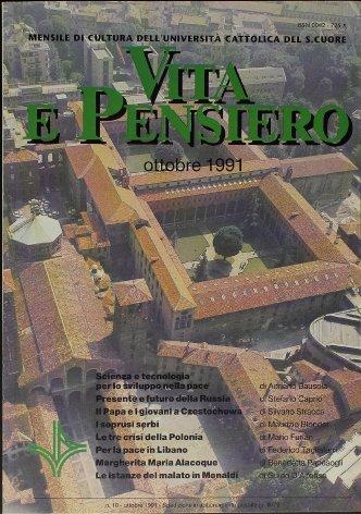 VITA E PENSIERO - 1991 - 10