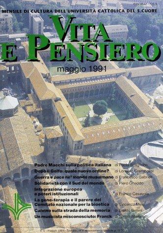 VITA E PENSIERO - 1991 - 5