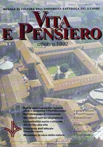 VITA E PENSIERO - 1992 - 10