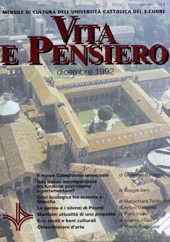 VITA E PENSIERO - 1992 - 12