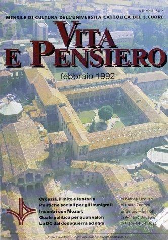 VITA E PENSIERO - 1992 - 2