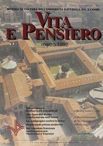 VITA E PENSIERO - 1992 - 3