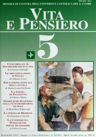 VITA E PENSIERO - 1993 - 5