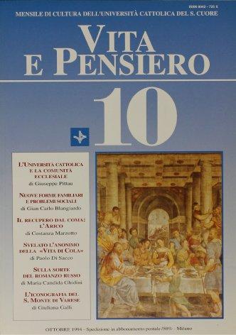 VITA E PENSIERO - 1994 - 10