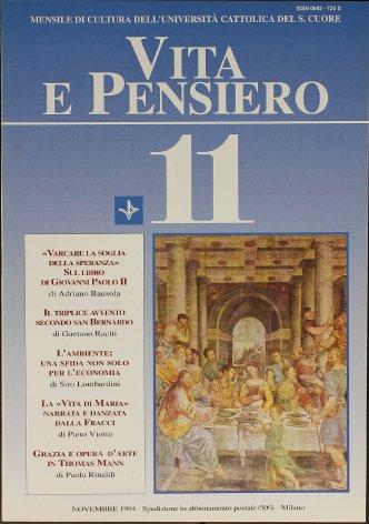 VITA E PENSIERO - 1994 - 11