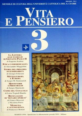 VITA E PENSIERO - 1994 - 3