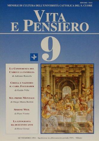 VITA E PENSIERO - 1994 - 9