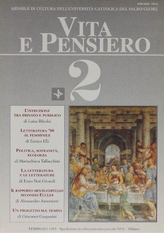 VITA E PENSIERO - 1995 - 2