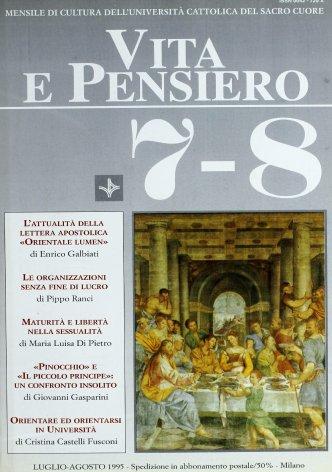 VITA E PENSIERO - 1995 - 7-8