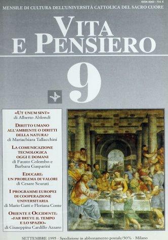 VITA E PENSIERO - 1995 - 9