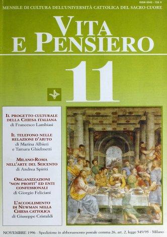 VITA E PENSIERO - 1996 - 11