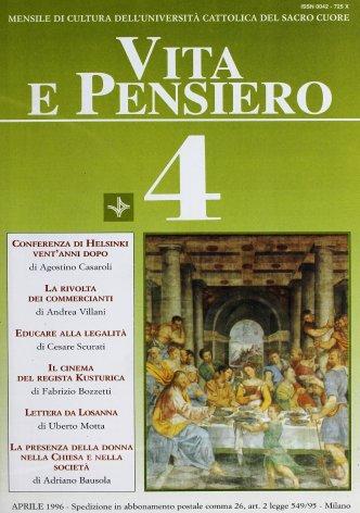VITA E PENSIERO - 1996 - 4
