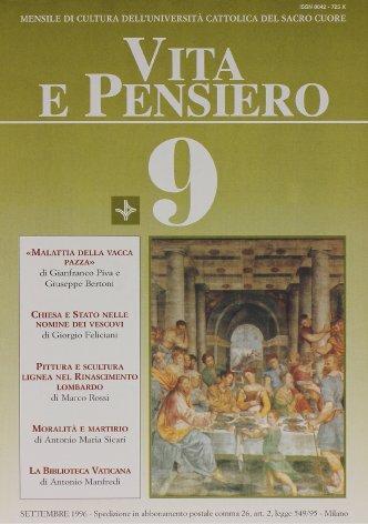 VITA E PENSIERO - 1996 - 9