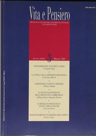 VITA E PENSIERO - 1997 - 3