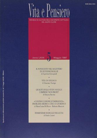 VITA E PENSIERO - 1997 - 5