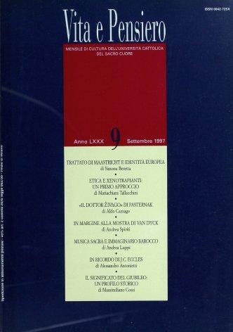 VITA E PENSIERO - 1997 - 9