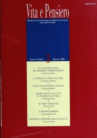 VITA E PENSIERO - 1998 - 3