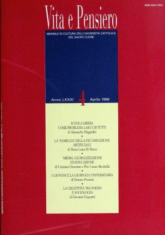 VITA E PENSIERO - 1998 - 4