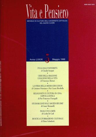 VITA E PENSIERO - 1998 - 5