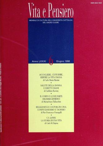 VITA E PENSIERO - 1998 - 6