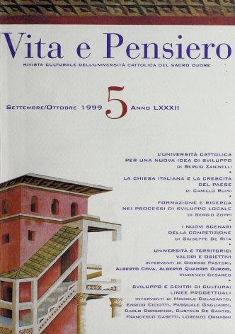 VITA E PENSIERO - 1999 - 5