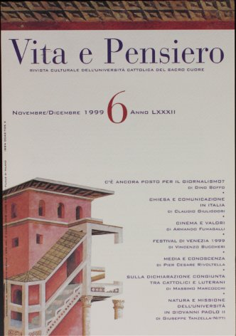 VITA E PENSIERO - 1999 - 6