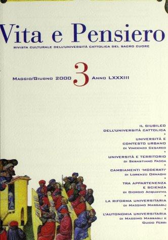 VITA E PENSIERO - 2000 - 3