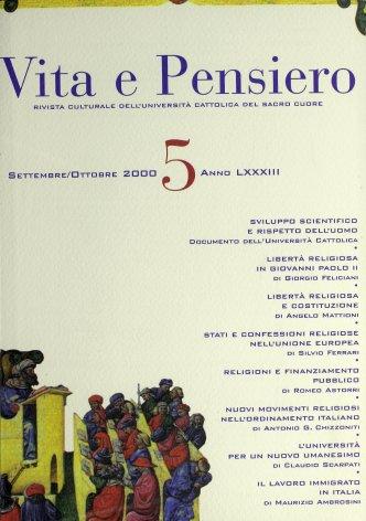 VITA E PENSIERO - 2000 - 5