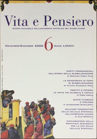 VITA E PENSIERO - 2000 - 6