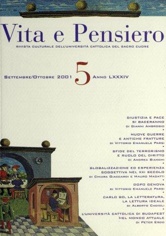 VITA E PENSIERO - 2001 - 5