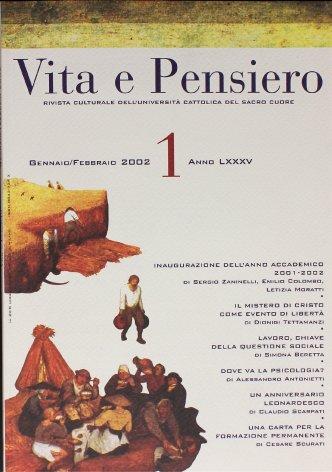 VITA E PENSIERO - 2002 - 1