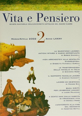 VITA E PENSIERO - 2002 - 2