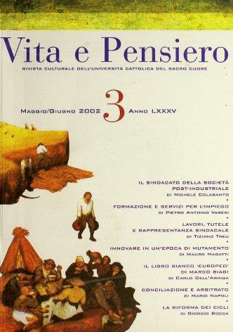 VITA E PENSIERO - 2002 - 3