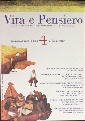VITA E PENSIERO - 2002 - 4