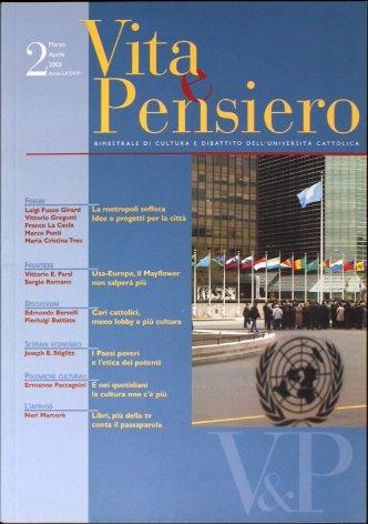 VITA E PENSIERO - 2003 - 2