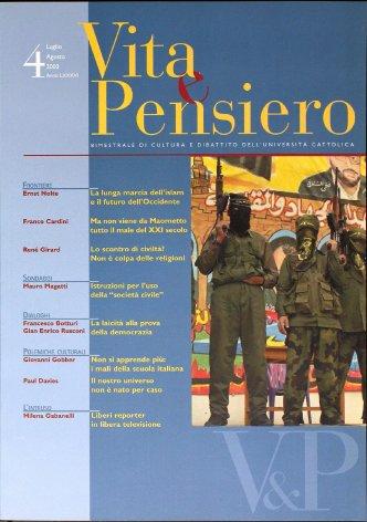 VITA E PENSIERO - 2003 - 4