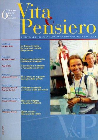 VITA E PENSIERO - 2004 - 6