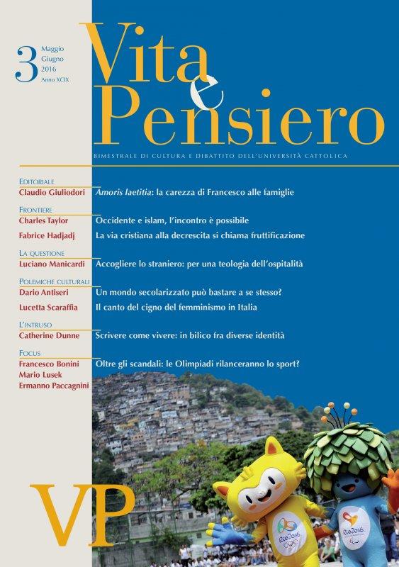 VITA E PENSIERO - 2016 - 3
