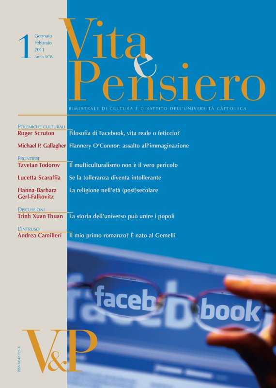 VITA E PENSIERO - 2011 - 1