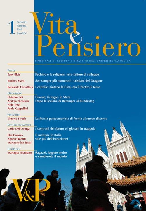 VITA E PENSIERO - 2012 - 1