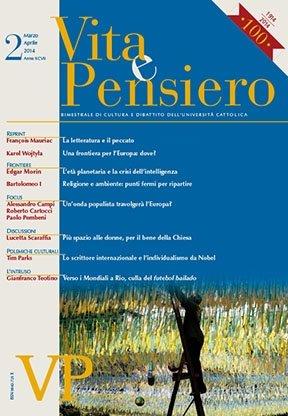 VITA E PENSIERO - 2014 - 2