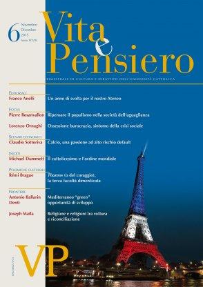 VITA E PENSIERO - 2015 - 6