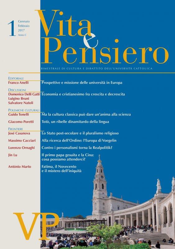 VITA E PENSIERO - 2017 - 1